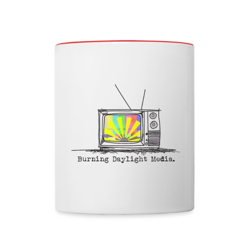 Burning Daylight Media Mug - Contrast Coffee Mug