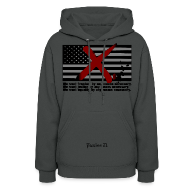 Hoodies ~ Women's Hoodie ~ Women's Malcolm X Quote
