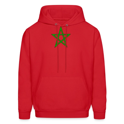 Moorish Flag Hoodie  - Men's Hoodie