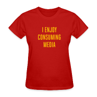 T-Shirts ~ Women's T-Shirt ~ [consuming]