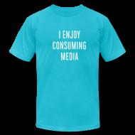 T-Shirts ~ Men's T-Shirt by American Apparel ~ [consuming]