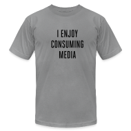 T-Shirts ~ Men's T-Shirt by American Apparel ~ [consuming]