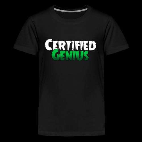 Genius T-Shirt Black - Kids' Premium T-Shirt