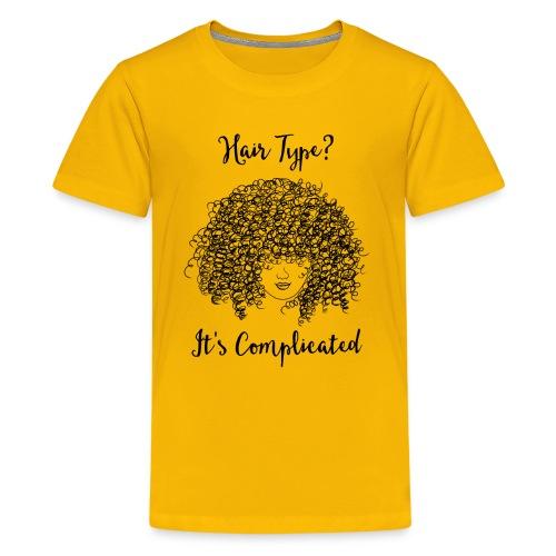 It's Complicated Kids Crew Neck T-shirt - Kids' Premium T-Shirt