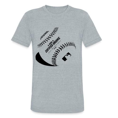 Organic Baseball - Unisex Tri-Blend T-Shirt
