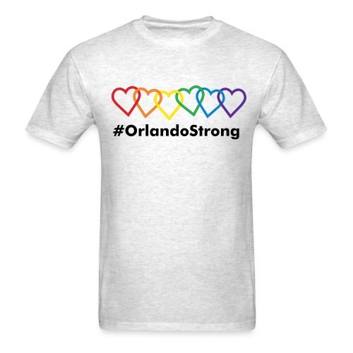 Men's T-Shirt - Wear your support for the community & victims of the Puls Nightclub shooting in Orlando, FL