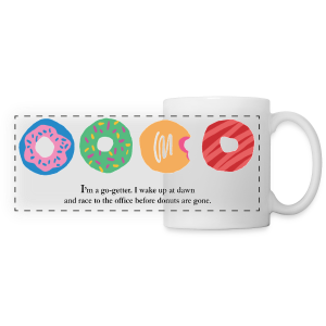 #DonutGoals Mug - Panoramic Mug