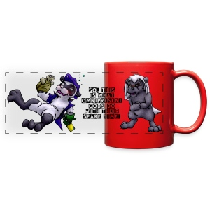 Dr. Mike Randomercam & Ms. Hall Full Color Panoramic Mug - Full Color Panoramic Mug