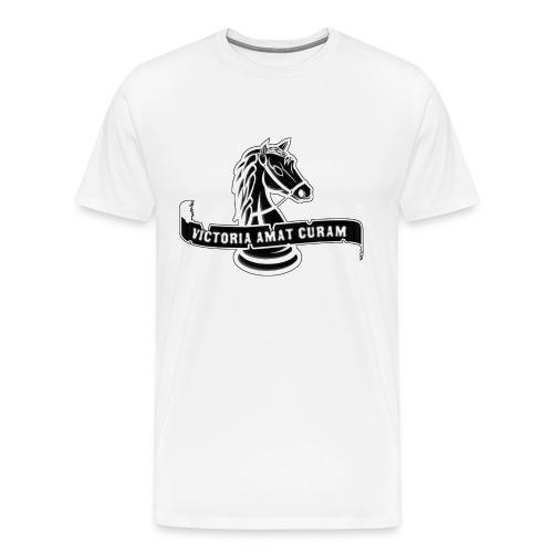 Victoria Amat Curam  - Men's Premium T-Shirt