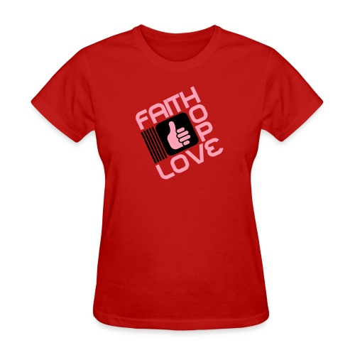 Like Faith Hope Love Women - Women's T-Shirt
