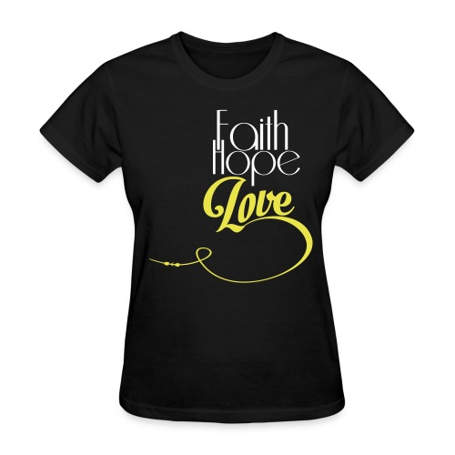 Faith Hope Love Women - Women's T-Shirt