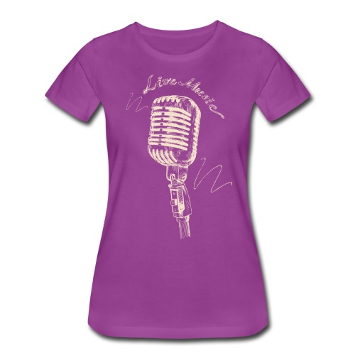 Live Music - Women's Premium T-Shirt