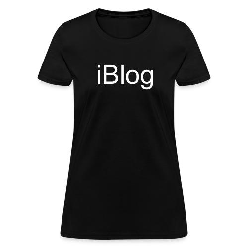i Blog - Women's T-Shirt
