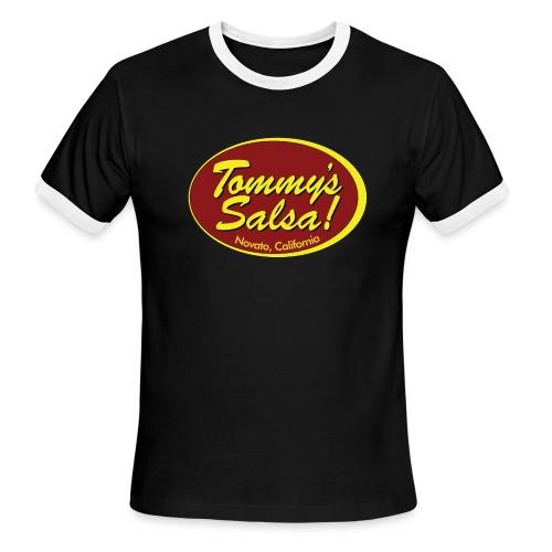 Tommy's Salsa Men's T-shirt - Men's Ringer T-Shirt