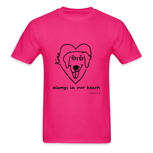 Rina always in our hearts  - Men's T-Shirt