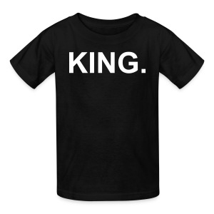 King. (kids) - Kids' T-Shirt