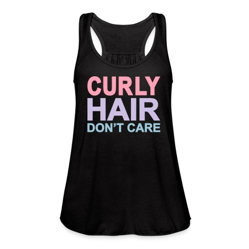 Curly Hair Don't Care - Women's Flowy Tank Top by Bella