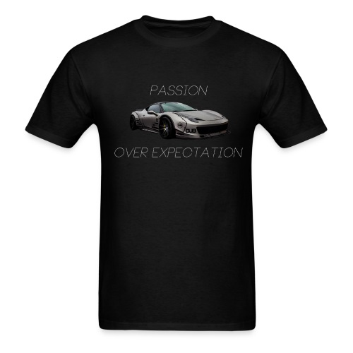 Passion Over Expectation Mens tee - Men's T-Shirt