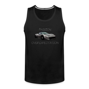 Passion Over Expectation Tanktop - Men's Premium Tank