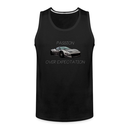 Passion Over Expectation Tanktop - Men's Premium Tank