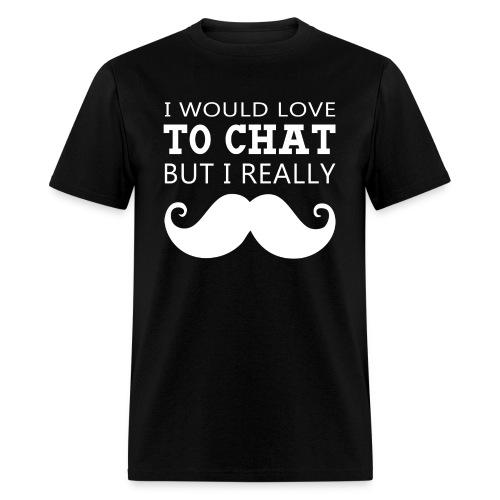 Moustache Men's T-Shirt - Men's T-Shirt