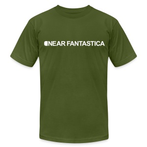 Near Fantastica (Olive) - Men's T-Shirt by American Apparel