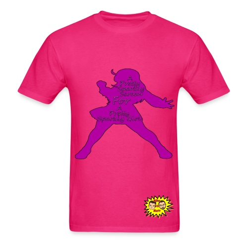 Pretty Sparkly Girl Tee - Men's T-Shirt