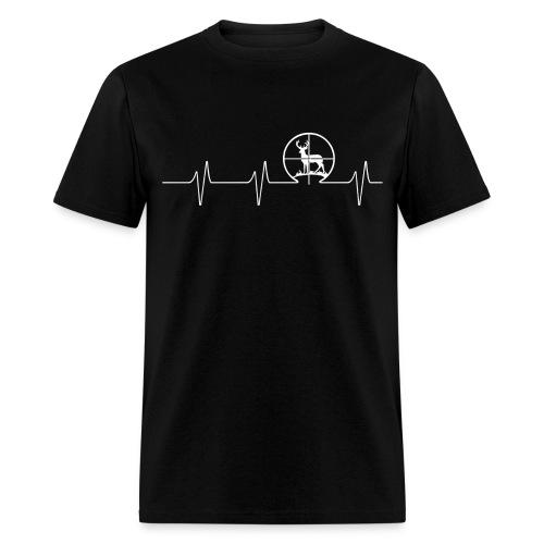 Hunting Deer - Beat - Men's T-Shirt
