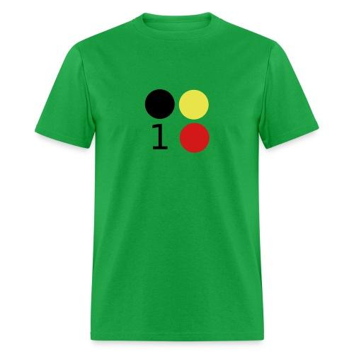 Design 3 Colors - Men's T-Shirt