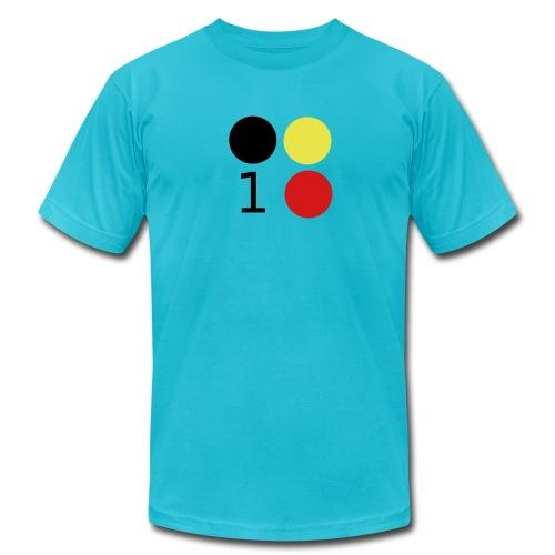 Design 3 Colors - Men's Fine Jersey T-Shirt