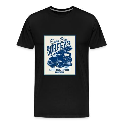 Portugal Surfers - Men's Premium T-Shirt