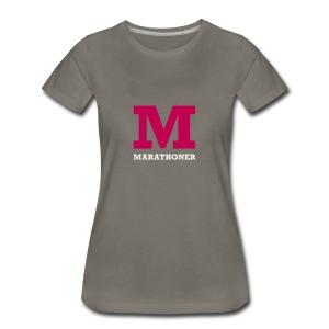 Marathoner - Women's Premium T-Shirt