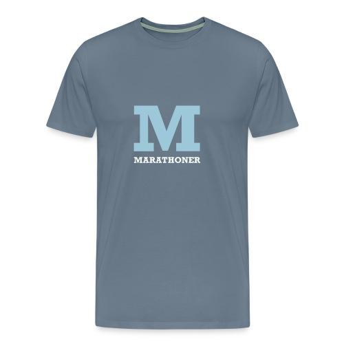 Marathoner - Men's Premium T-Shirt