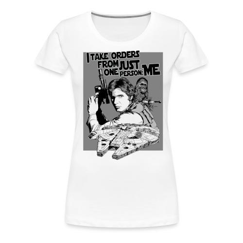 HanSolo - Women's Premium T-Shirt