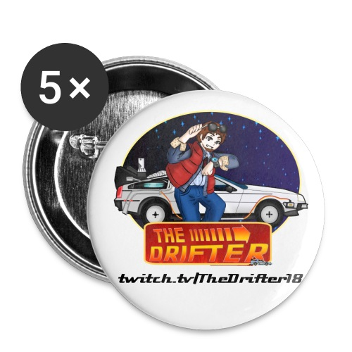TheDrifter Buttons - Buttons small 1'' (5-pack)