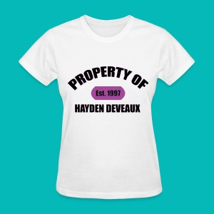 Property Of Women's T-Shirt - Women's T-Shirt