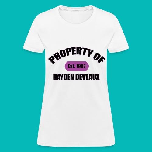 Property Of Women's T-Shirt - Women's T-Shirt
