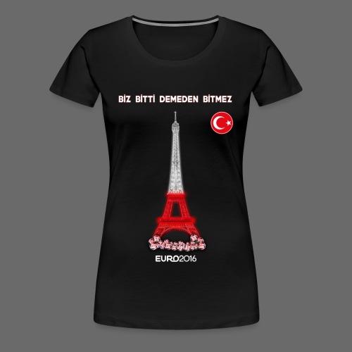 TURKEY Euro 2016 - Women's Premium T-Shirt