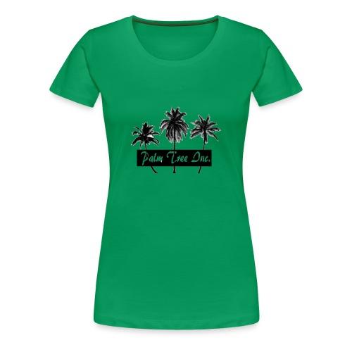Premium Green Palm Tree Inc. T-Shirt Women - Women's Premium T-Shirt