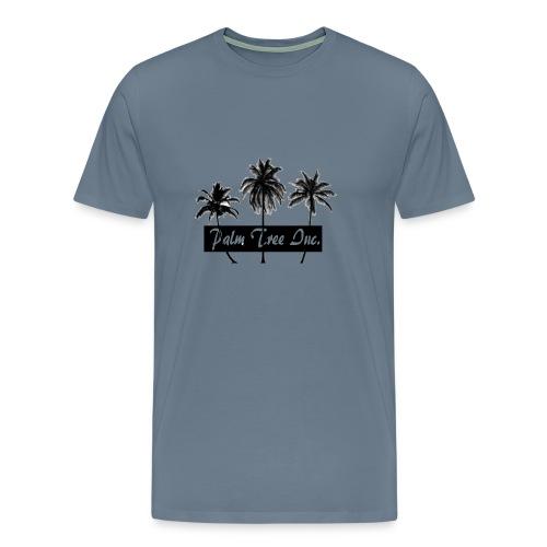 Premium Light Blue Palm Tree Inc. T-Shirt Men - Men's Premium T-Shirt