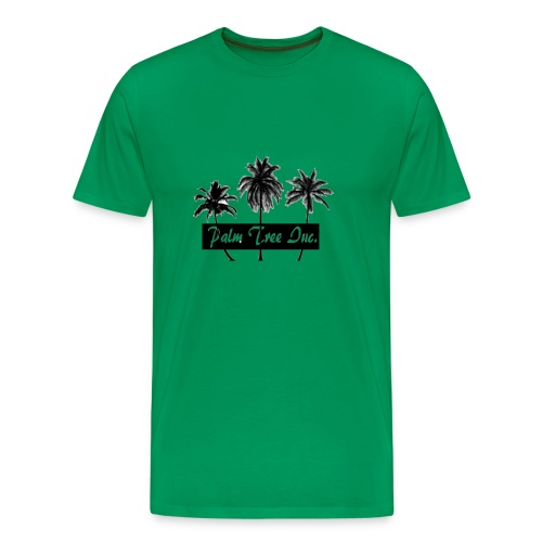 Premium Green Palm Tree Inc. T-Shirt Men - Men's Premium T-Shirt