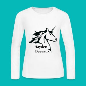Unicorn Women's Long Sleeve Jersey T-Shirt - Women's Long Sleeve Jersey T-Shirt