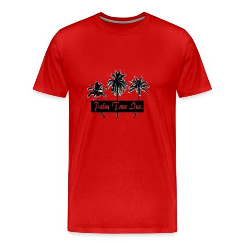Premium Red Palm Tree Inc. T-Shirt Men - Men's Premium T-Shirt