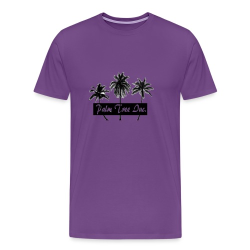 Premium Purple Palm Tree Inc. T-Shirt Men - Men's Premium T-Shirt