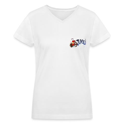 Home  - Women's V-Neck T-Shirt