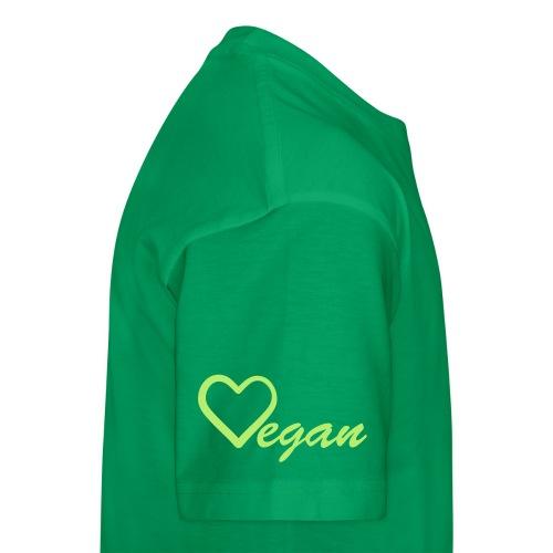Vegan Heart Kid's Premium T-Shirt - Kids' Premium T-Shirt