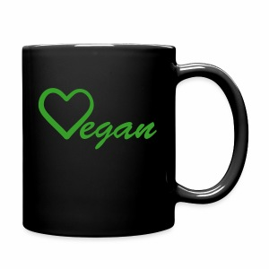 Vegan Heart Full Color Mug - Full Color Mug