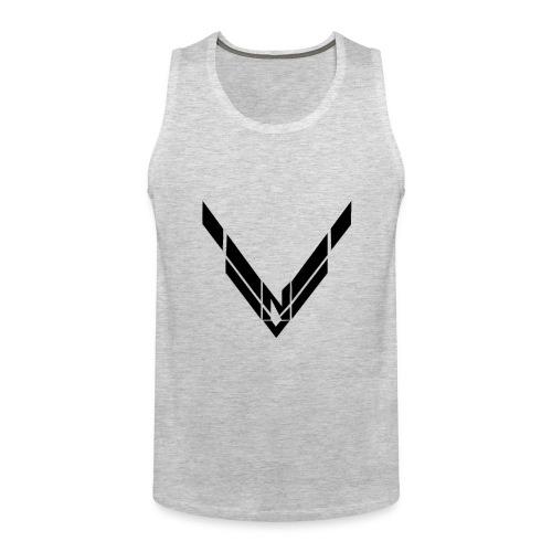 Volk Nation Black Logo Tank Top - Men's Premium Tank