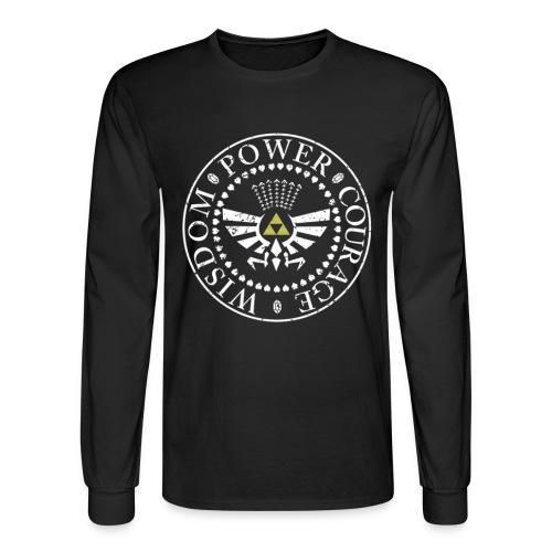 Triforce 2 - Men's Long Sleeve T-Shirt