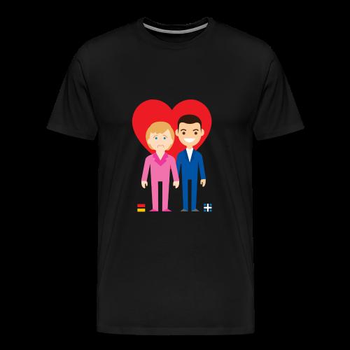 Men's Premium T-Shirt - #funny #politics #smile #comic #cartoon #crisis #greece
